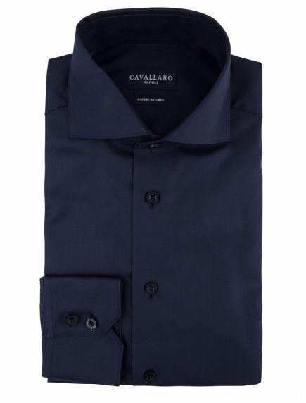 NOS Oxford Navy Overhemd