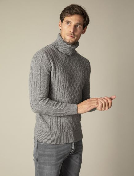 Duo Cable Pullover