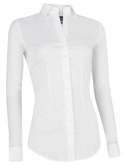 Nosta White Business Blouse