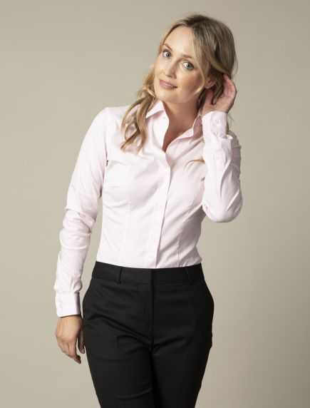 Nosta Pink Business Blouse