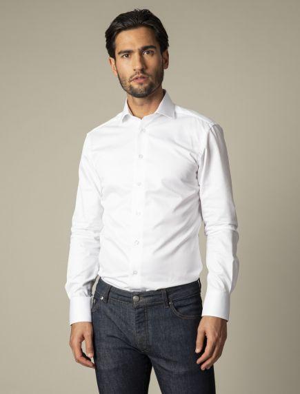 NOS Bianco Overhemd