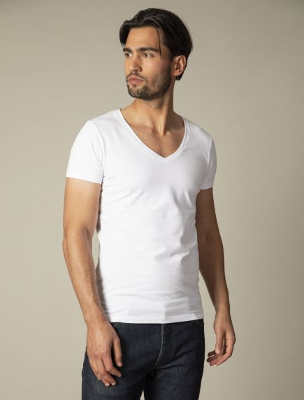 V-Neck Low 2-pack Undershirts