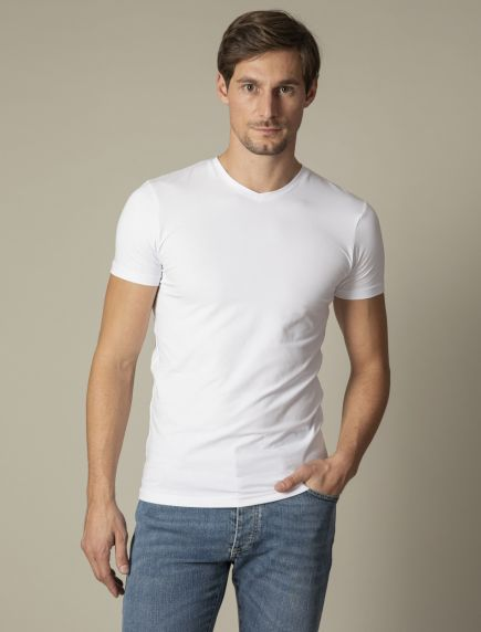 V-Neck 2-pack Ondershirts